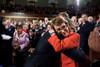 Pres. Barack Obama Hugs Rep. Gabrielle Giffords History - Item # VAREVCHISL040EC179