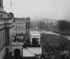 View Of The Capitol And Crowds At The Inauguration Of Herbert Hoover History - Item # VAREVCHISL041EC062