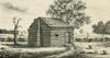 A Frontier Presbyterian Church. The Log Cabin Church Was Built In Western Pennsylvania. Ca. 1800. History - Item # VAREVCHISL030EC189