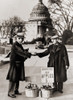 The Great Depression. Unemployed Man Sells Apples Near The Capitol In Washington D.C. As The Great Depression Deepened In 1930 History - Item # VAREVCHISL008EC080