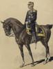 Mexican President Porfirio Diaz On Horseback In 1890 Painting By Italo Cenni. He Was A Skilled And Pragmatic Politician History - Item # VAREVCHISL043EC283