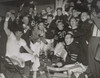 Chicago Bears Cheering After Beating The Green Bay Packers In The Western Division Playoffs. 2Nd From Left History - Item # VAREVCHISL039EC497