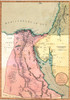 1803 Map Of Egypt History - Item # VAREVCHISL001EC047