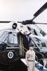Former President Richard Nixon Boards The Presdential Helicopter For The Last Time History - Item # VAREVCP4DRINIEC002