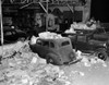1933 Longbeach Earthquake Damage. Southern California Was Hit By A Magnitude Of 6.4 Richter Scale Earthquake. Parked Cars Were Damaged By Falling Masonry. Brawley History - Item # VAREVCCSUA001CS316