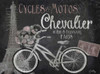 Paris Bike on Chalk Border I Poster Print by Elizabeth Medley - Item # VARPDX10603K