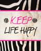 Zebra Sayings II Poster Print by SD Graphics Studio - Item # VARPDX10426B