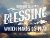 Anything Blessing Poster Print by Gail Peck - Item # VARPDX11612U