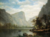 Mirror Lake, Yosemite Valley Poster Print by Albert Bierstadt - Item # VARPDX133227