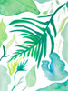 Green Water Leaves I Poster Print by Kat Papa - Item # VARPDX11602A