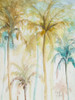 Watercolor Palms in Blue II Poster Print by Patricia Pinto - Item # VARPDX11347D