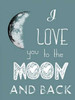 All The Way To The Moon Poster Print by Sheldon Lewis - Item # VARPDXSLBRC320A