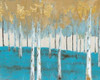 Golden Birch Ocean Poster Print by Sunny - Item # VARPDXSF5RC004A4