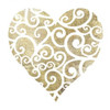 Heart Glitz 2 Poster Print by Melody Hogan - Item # VARPDXMHSQ242B
