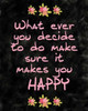 Makes you Happy Poster Print by Kimberly Allen - Item # VARPDXKARC123A
