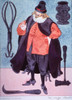 17th Century Physician.  Taken from a 1962 pharmaceutical company promotion reproducing the distinctive garb of the medical and related professions from the time of Hippocrates to the Napoleonic era. Poster Print by Warja Honegger-Lavater - Item # VA