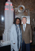 Whoopi Goldberg, George Takei At A Public Appearance For Empire State Building Illuminated In Red In Honor Of World Aids Day, Empire State Building, New York, Ny November 30, 2015. Photo By Derek StormEverett Collection Celebrity ( x - Item # VAREVC1
