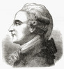 Jean-Pierre Blanchard 1753 _ 1809 French Inventor Pioneer In Aviation And Ballooning First Man To Cross The English Channel In A Balloon 7 January 1785 From The Book Wondeful Balloon Ascents Or The Conquest Of The Skies Published C 1870 PosterPrint -