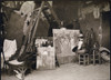 Lautrec In His Studio Rue Caulaincourt 1890 Henri Marie Raymond De Toulouse-Lautrec Monfa 1864-1901 French Painter Printmaker Draftsman And Illustrator From A Photograph By Joyant From The Book Toulouse Lautrec By Gerstle Mack Published 1938 PosterPr
