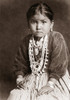 Navajo Girl, 1920. /Nthe Daughter Of A Navajo Silversmith Wearing A Velvet Blouse Adapted From The Apparel Of White Settlers, And Jewelry Of Coral, Turquoise, Silver And Shell. Photographed By Joseph Roy Willis At Gallup, New Mexico, 1920. Poster Pri