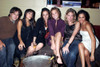 Marshall Heyman, Raina Kenchansky, Mona Shars, Mandy Moore, Heather Feit, Meghan Markle. Inside For Mandy Moore Out And About In The Hamptons, The Pink Elephant Night Club, Southampton, Ny, August 25, 2006. Photo By Rob RichEverett - Item # VAREVC062