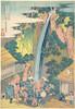 Item # MET36484 Roben Waterfall at Oyama in Sagami Province (Soshu Oyama Roben no taki)  from the series A Tour of Waterfalls in Various Provinces (Shokoku taki meguri) Poster Print by Katsushika Hokusai (Japanese  Tokyo (Edo) 1760  •À_1849 Tokyo (Ed