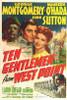 Ten Gentlemen from West Point Movie Poster Print (27 x 40) - Item # MOVAJ1214