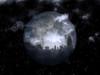 3D rendering. Full moon over night city. Poster Print by Bruce Rolff/Stocktrek Images - Item # VARPSTRFF200267S