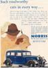1934 Advertisement For A Morris Cowley Six Saloon Sliding Head Car. Poster Print by Ken Welsh / Design Pics - Item # VARDPI12280453
