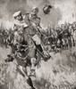 A Cossack Who Had Been Taken Prisoner Germans During Wwi Remounts His Horse Show German Officer How Put It Through Its Paces Succeeds Escaping Enemy Taking Officer Him War Illustrated Album Deluxe Published 1915 Hilary Jane Morgan # VARDPI12285597