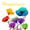 Floral Pop Happines Poster Print by Albert Koetsier - Item # VARPDXAK8SQ392D2