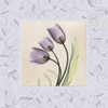 Purple Tulips on Purple Damask Poster Print by Albert Koetsier - Item # VARPDXAKXSQ305B