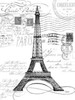 Eco Vintage Paris 1 Poster Print by Carole Stevens - Item # VARPDXCSRC188A1