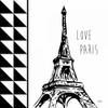 Love Paris Poster Print by Carole Stevens - Item # VARPDXCSSQ335A