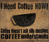 Now Coffee Poster Print by Dan DiPaolo - Item # VARPDXDDPRC516A