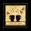 Coffee Love Poster Print by Dan DiPaolo - Item # VARPDXDDPXSQ312A1