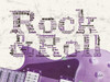 Purple Rock And Roll Poster Print by Diane Stimson - Item # VARPDXDSRC220A