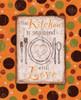 Kitchen Love Orange Poster Print by Diane Stimson - Item # VARPDXDSRC224C