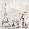 Paris Skyline Poster Print by Diane Stimson - Item # VARPDXDSSQ260A