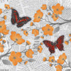 Cherry Blossom Bflies 4 Poster Print by Diane Stimson - Item # VARPDXDSSQ273B1