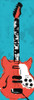 Electric Guitar B3 Poster Print by Enrique Rodriquez Jr - Item # VARPDXERJPL002B3