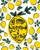 Lemonade and Jesus Poster Print by Erin Barrett - Item # VARPDXFTL269