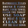 Bath Rules 2 C Poster Print by Lauren Gibbons - Item # VARPDXGLSQ013D3