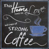 Strong Blue Coffee Poster Print by Lauren Gibbons - Item # VARPDXGLSQ041A