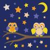 Owls of Color 3 Poster Print by Lauren Gibbons - Item # VARPDXGLSQ083B