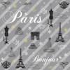 Paris Gray Poster Print by Lauren Gibbons - Item # VARPDXGLSQ108B