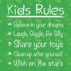 Kids Rules Poster Print by Lauren Gibbons - Item # VARPDXGLSQ129A