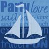 Beach Sail Poster Print by Lauren Gibbons - Item # VARPDXGLSQ145C