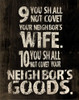 10 Commandments 2 Poster Print by Jace Grey - Item # VARPDXJGRC100B