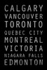 Canada Type Poster Print by Jace Grey - Item # VARPDXJGRC194A